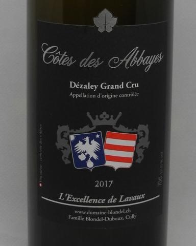 Dézaley, Côte des Abbayes - 70cl - Louis Blondel
